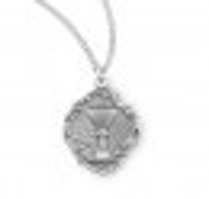 Sterling Silver Chalice Pendant S385218