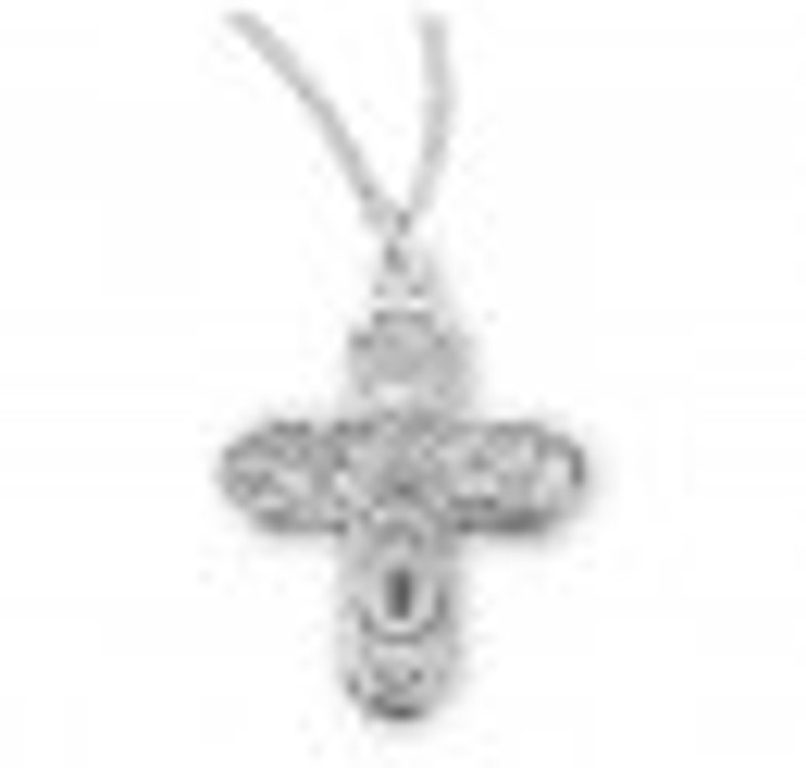 Sterling Silver 4-Way Medal S144218