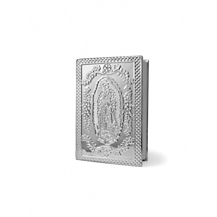 WEDDING BIBLE LATINO AMERICA SILVER W/ GU1