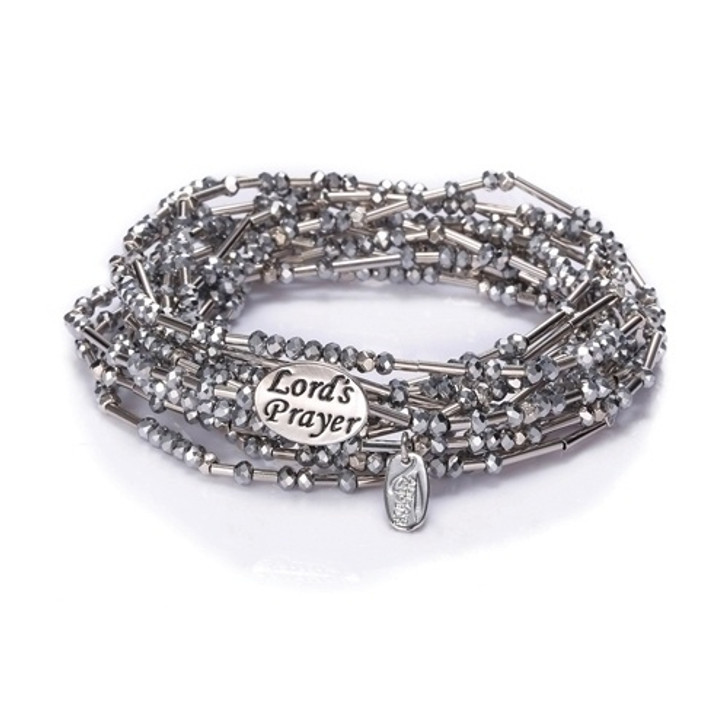 LORD'S PRAYER WRAP-SILVER RHD 222724