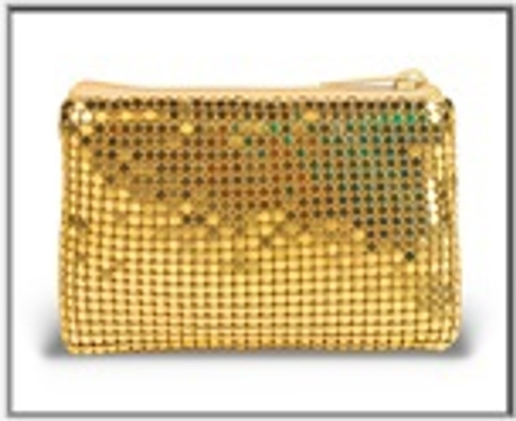 Gold Mesh Rosary Case 1681.07
