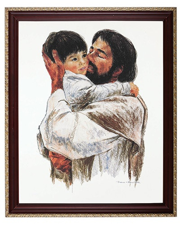 Jesus Holding Boy picture