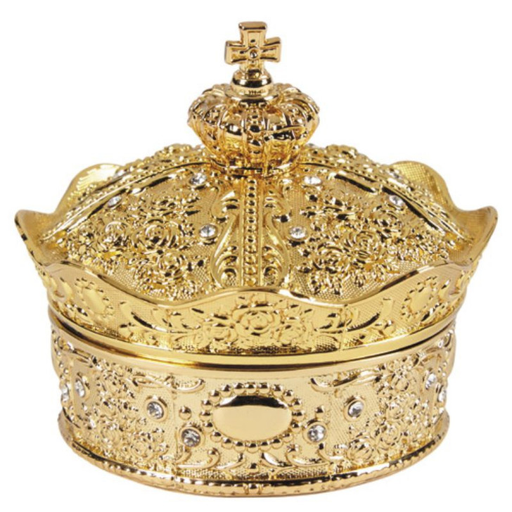 Gold Crown Box with Arras Coins Set WC614