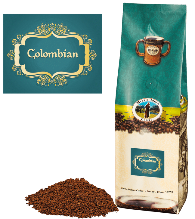 COLOMBIAN 12 oz Ground