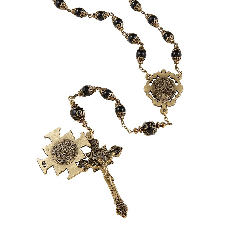 Creed® Saint Benedict Vintage Rosary