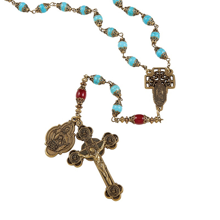 Creed® Our Lady Of Guadalupe Vintage Rosary