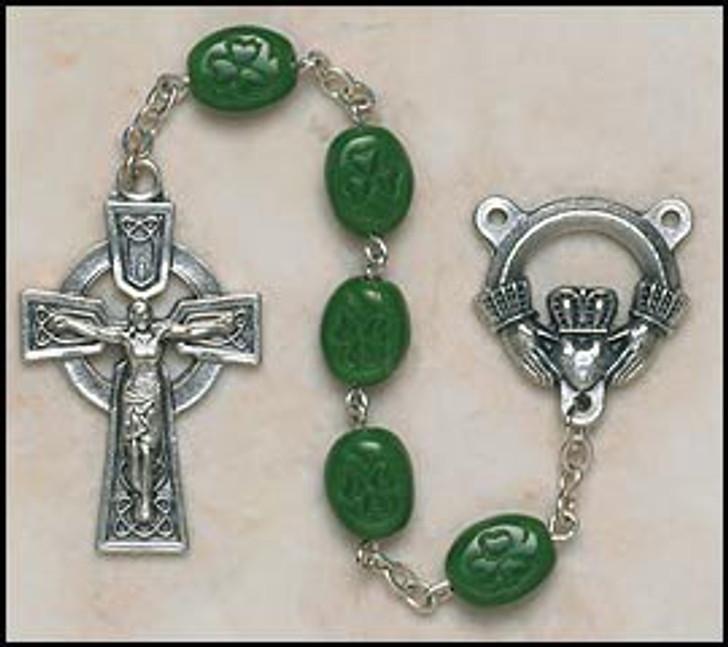 Shamrock Our Lady Of Knock Irish Rosary SO67SR7644CLAD