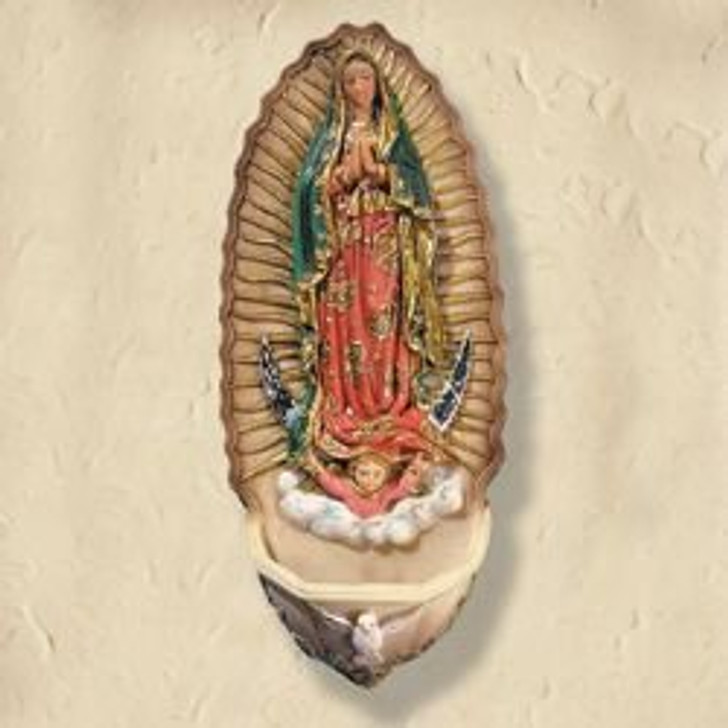Our Lady of Guadalupe Holy Water LC751