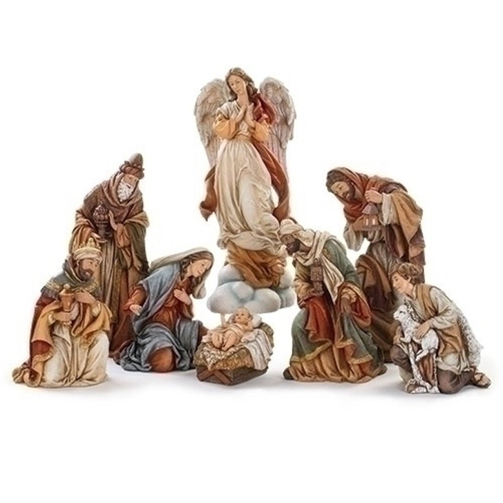 "17""H 7 PC ST NATIVITY; 3 KINGS 132661"