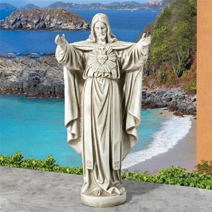 The Sacred Heart of Jesus Spiritual Garden Statue LY712152