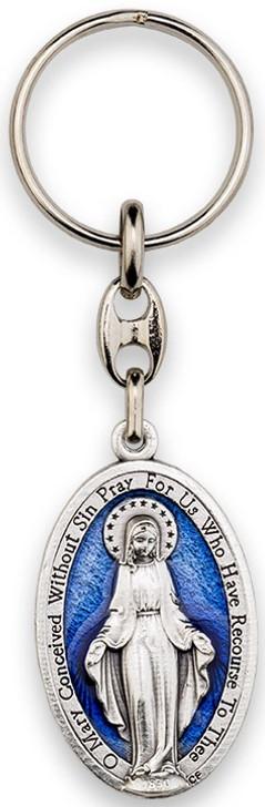 Key Ring-Miraclulous-Enamel BL MM 3159MI