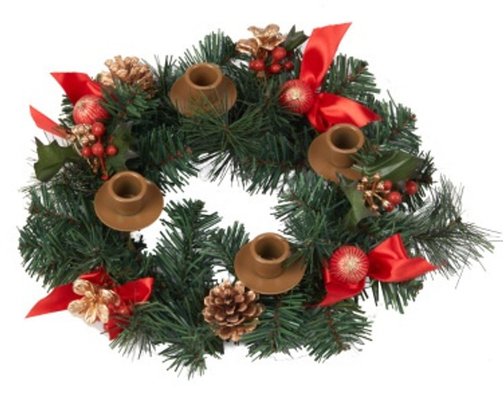Berry Advent Wreath VC909