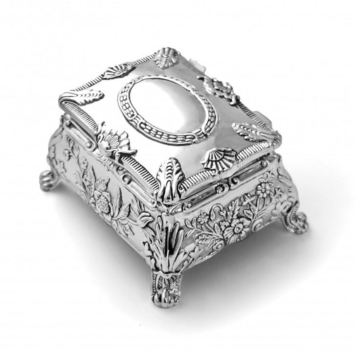 WEDDING ARRAS SILVER PLATED BOX WITH GIFT BOX AR214S