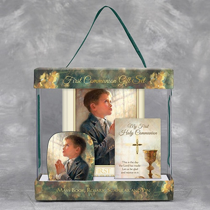 Kathy Fincher First Communion Gift Set - Boy WS152