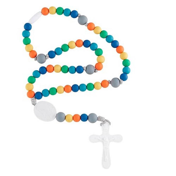 Silicone Rosary Multicolor G4663
