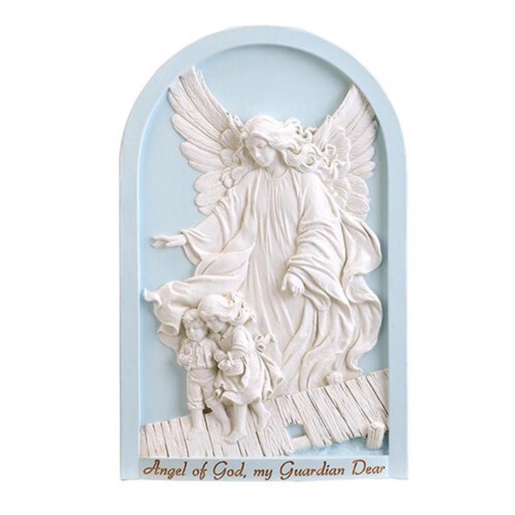 Guardian Angel Plaque Blue HS131
