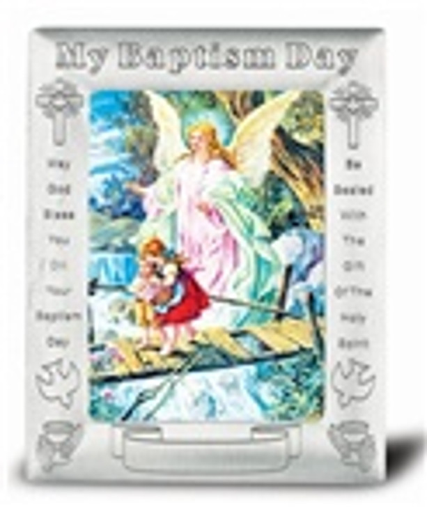 GUARDIAN ANGEL BAPTISM FRAME MBF-350