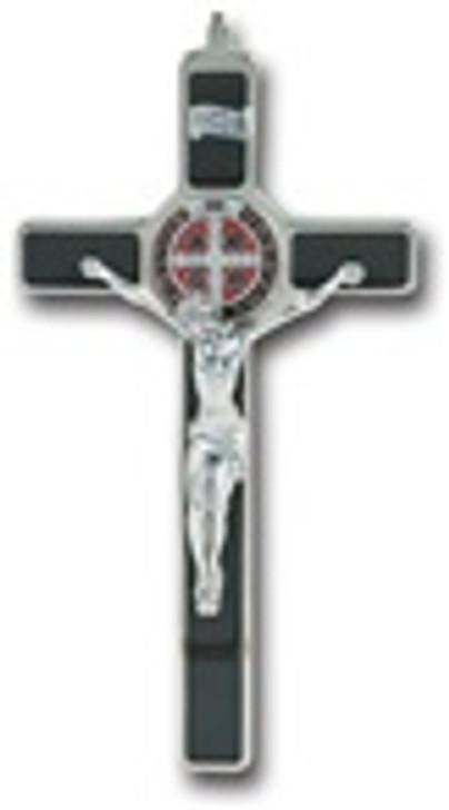 ENAMELED SAINT BENEDICT CROSS 2162