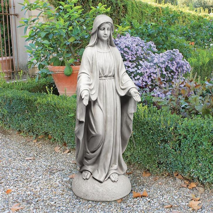 Madonna of Notre Dame Garden Statue VG55436