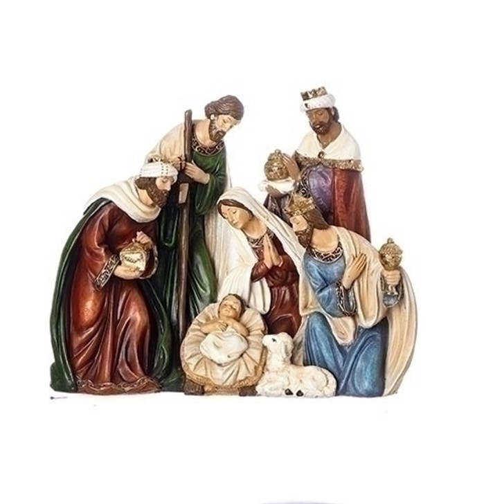 "8""H X 9.5""W NATIVITY FIGURE 131305"