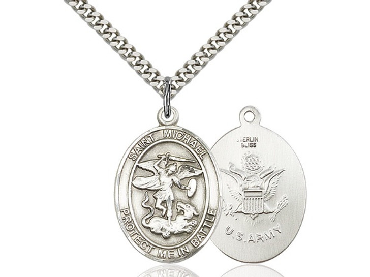 St Michael Guardian Angel 1173SS2-24S-LC