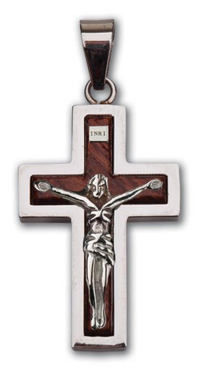 Raised Wood Crucifix MM2905
