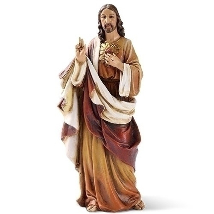 "6.25""H SACRED HEART OF JESUS 60698"