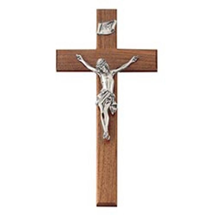Walnut Crucifix JC-4125-E