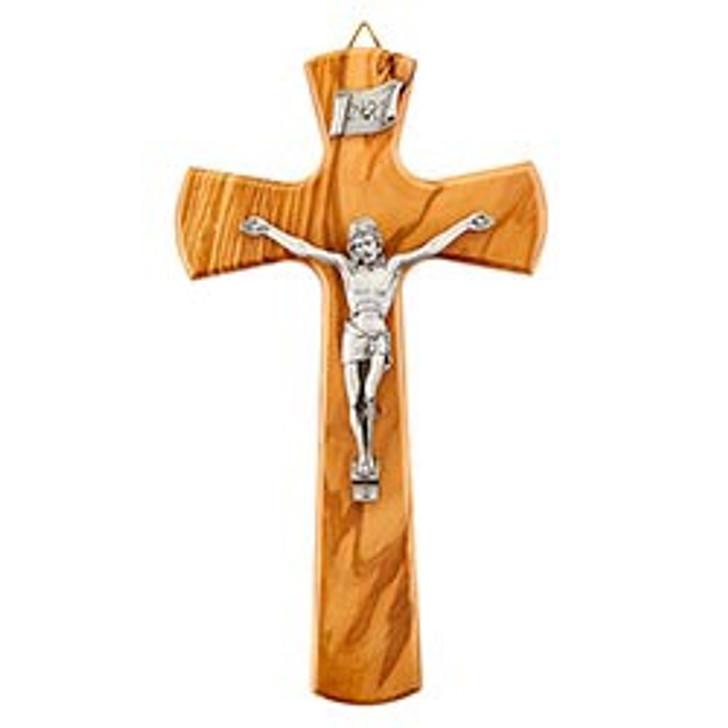 Olive Wood Crucifix JC-4132-E