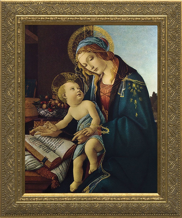 Madonna and Child by Botticelli Framed Art NW-124f2