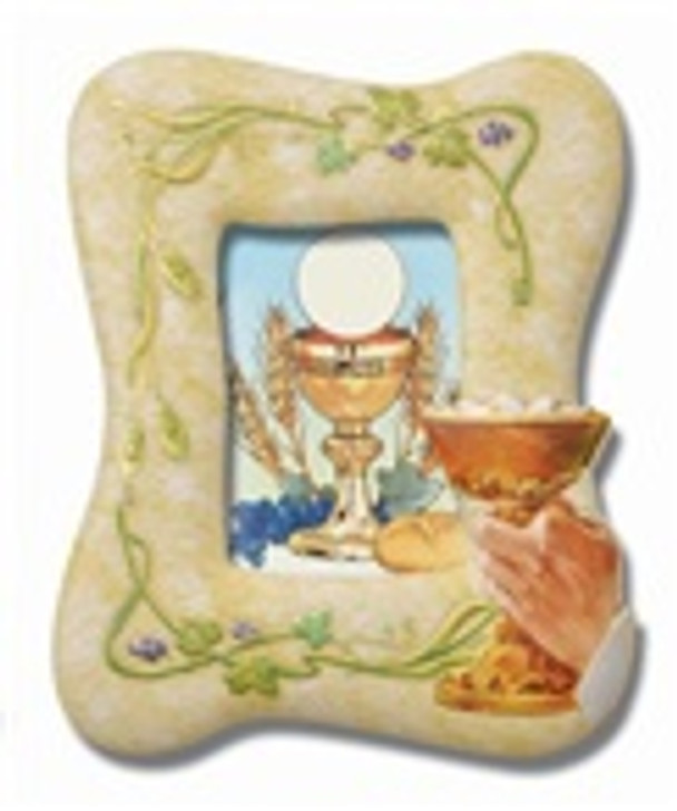 2214 COMMUNION FRAME WITH CHALICE