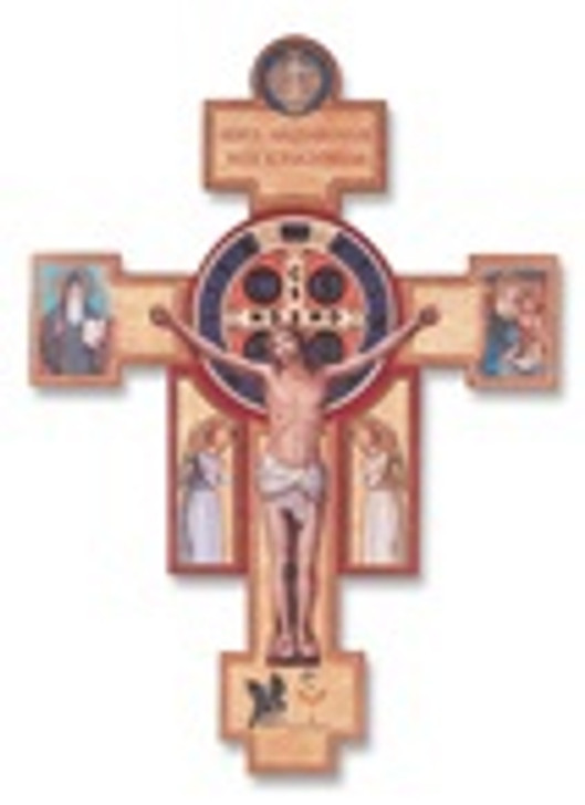 14 In SAINT BENEDICT JUBILEE CRUCIFIX 22181-14