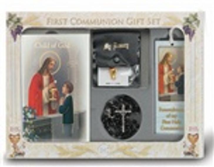 CHILD OF GOD BOY'S 6 PIECE FIRST COMMUNION GIFT SET 5275_152
