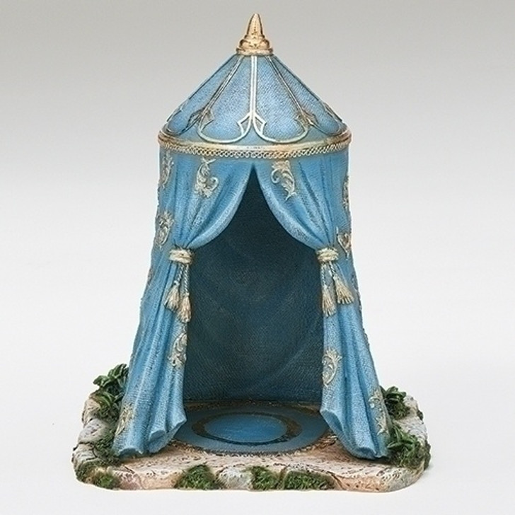 "9.75""H BLUE KING'S TENT 55617"