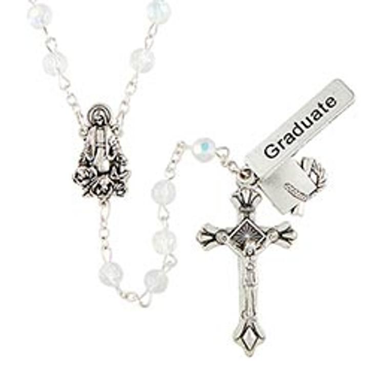 Crystal Graduate Rosary BK12173