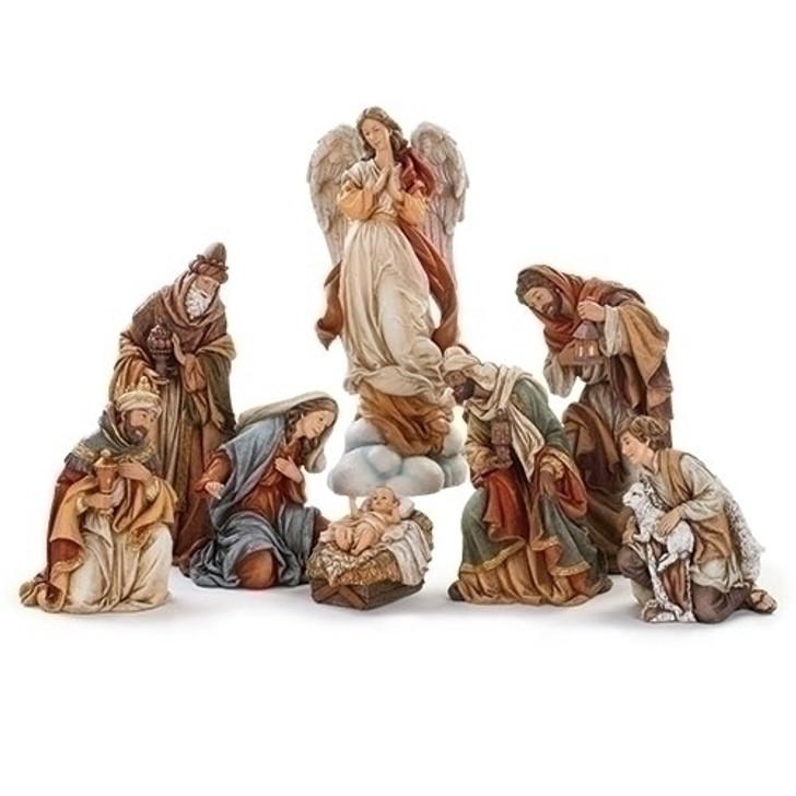 NATIVITY; 3 KINGS & SHEPHERD 132660 ANGEL 132661