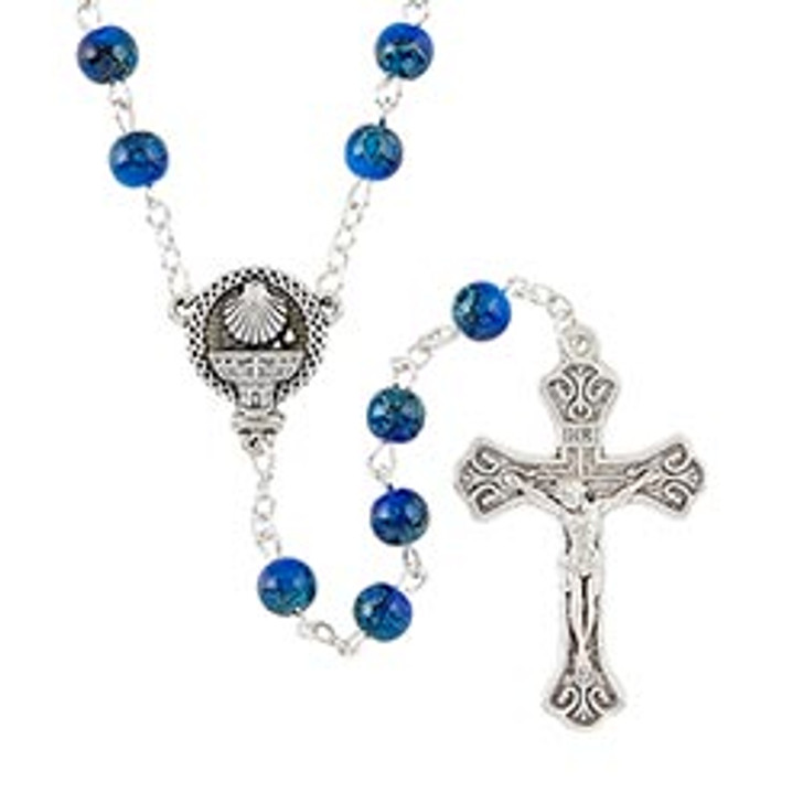 Faux Marble RCIA Rosary