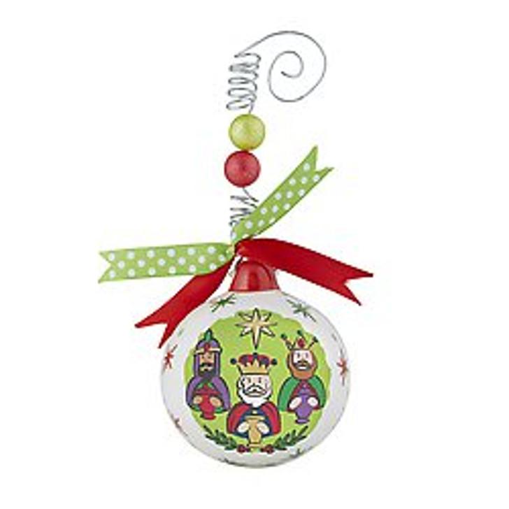 Christmas Ornament - O Come All Ye Faithful F3656
