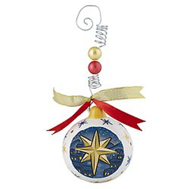 Christmas Ornament - O Holy Night F3657