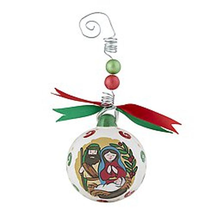 Christmas Ornament - Joy to the World F3658