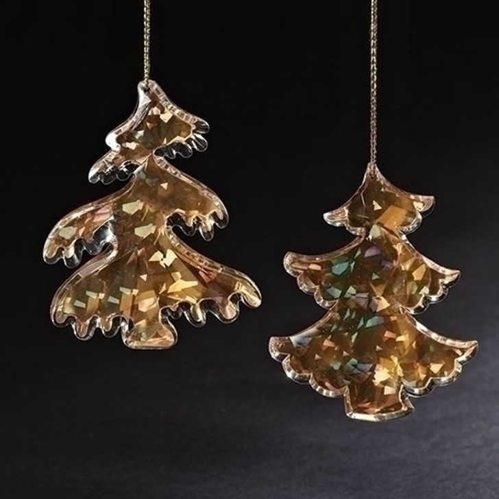 5 In H GOLD ACRYLIC TREE PAIR 130374