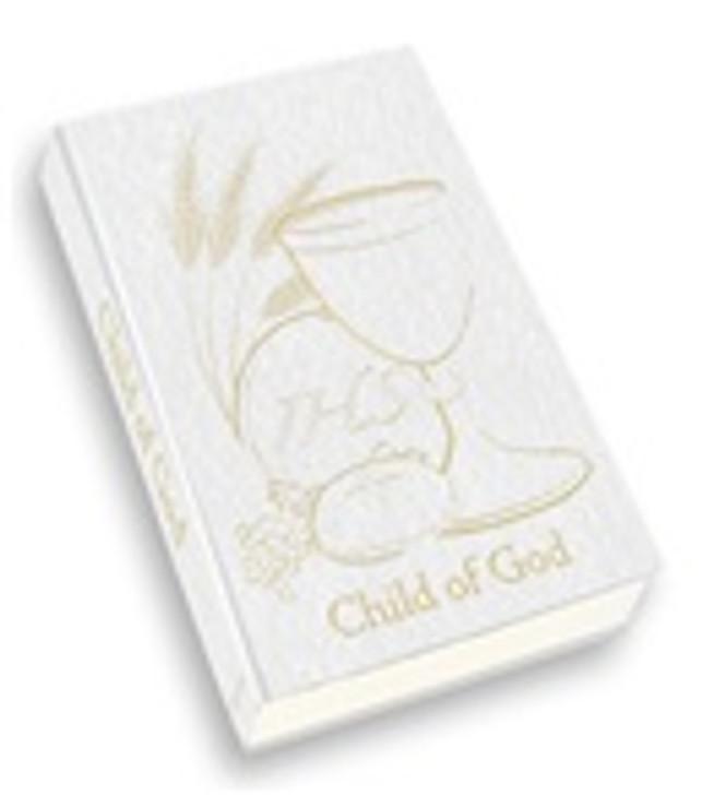 """CHILD OF GOD"" FIRST COMMUNION PRAYER BOOK 2480"