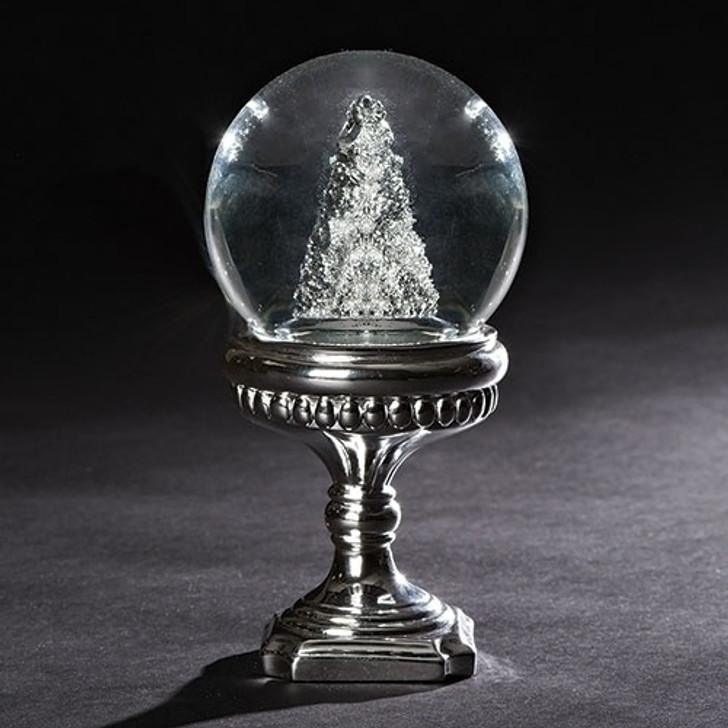 7.5 In SILVER TREE DOME PEDESTAL 130269
