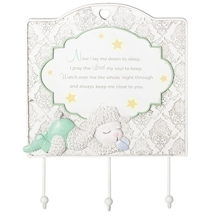 8.5 In BABY BLESSINGS WALL PLAQUE14883