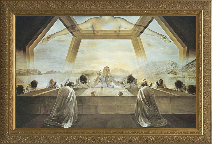 Last Supper by Salvador Dali Framed Art NW-93g2