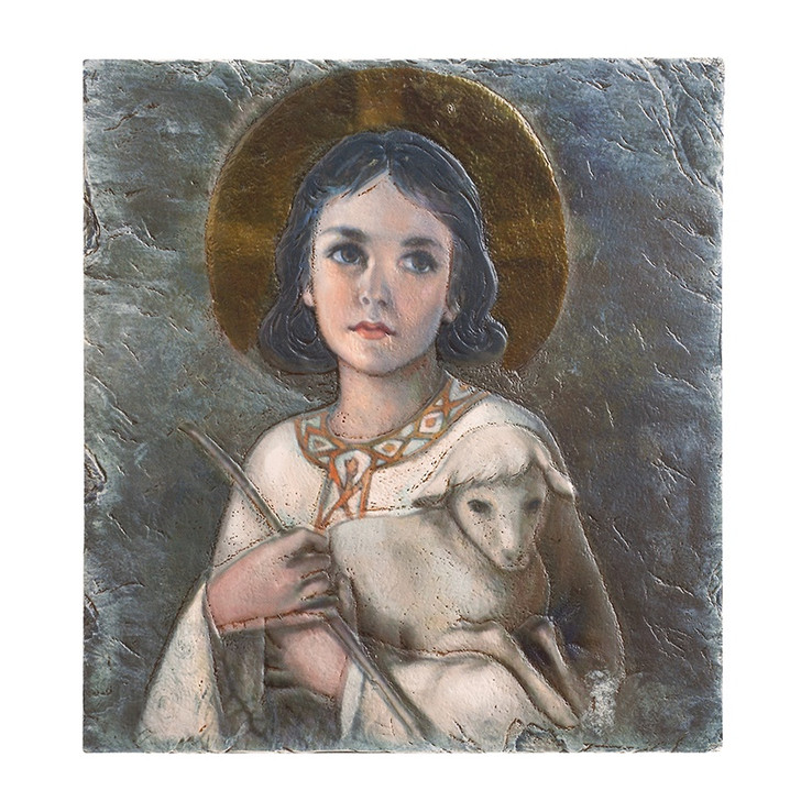 8 x 10 IN The Lord is my Shepherd Tile Plaque YC571