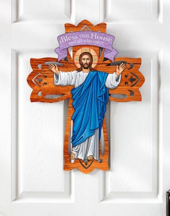 Christ the Light Door Hanging