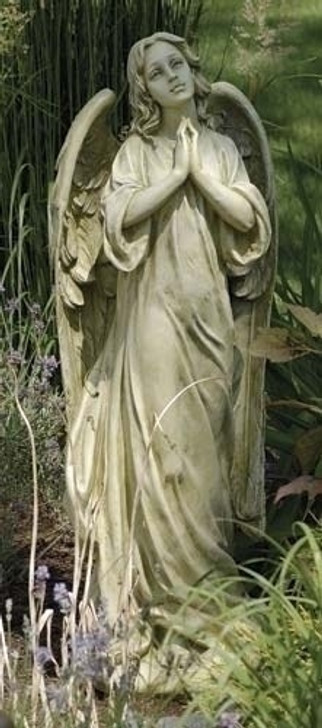 angel garden figure, praying angel figure, outdoor figure, garden statue 42512 FS