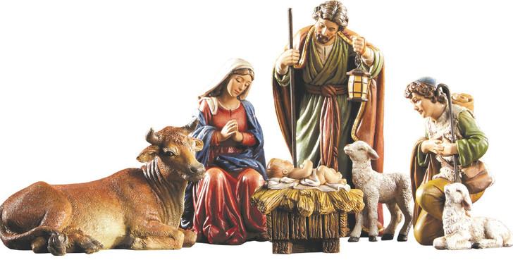 """5"""" Michael Adams 6-Pc Nativity Set"""