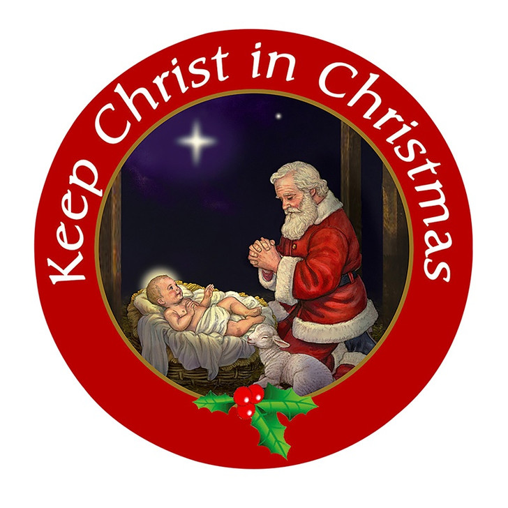 Keep Christ in Christmas Auto Magnet MC578